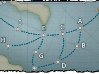 战舰少女3-2、3-3、3-4带路条件攻略