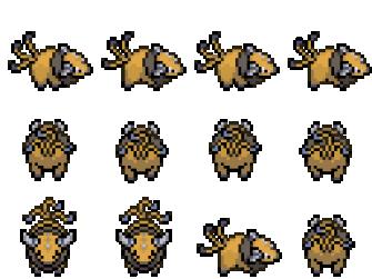 星露谷物语口袋妖怪材质mod下载 替换主角和动物