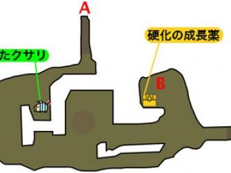 3DS怪物猎人物语全副本地图一览 各宝箱位置标注