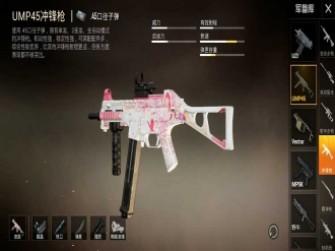 和平精英枪械分析之UMP45,冲锋枪中的小步枪