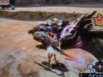 怪物猎人4G黑轰龙解说视频 操虫棍力耐虫炮流