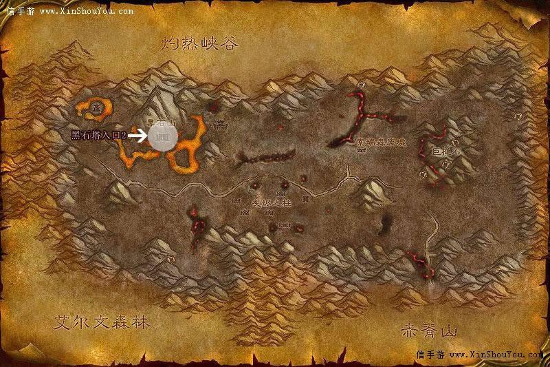 黑石塔上层副本内路线图片