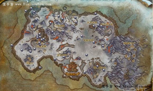 联盟怎么探索霜火岭图片