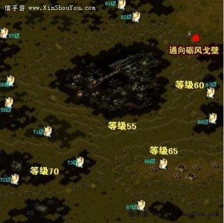 魔域冰宫boss地图图片